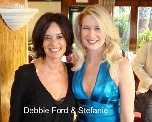 Stefanie Hartman and Debbie Ford