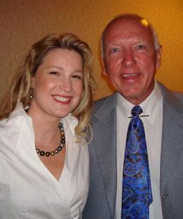 Stefanie Hartman with Mark Victor Hansen