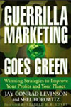 Guerrilla Marketing Goes Green