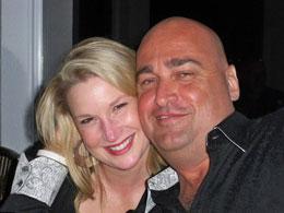 Stefanie Hartman with Trevor Crook